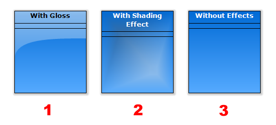 Effects - Gloss and Shading Effect