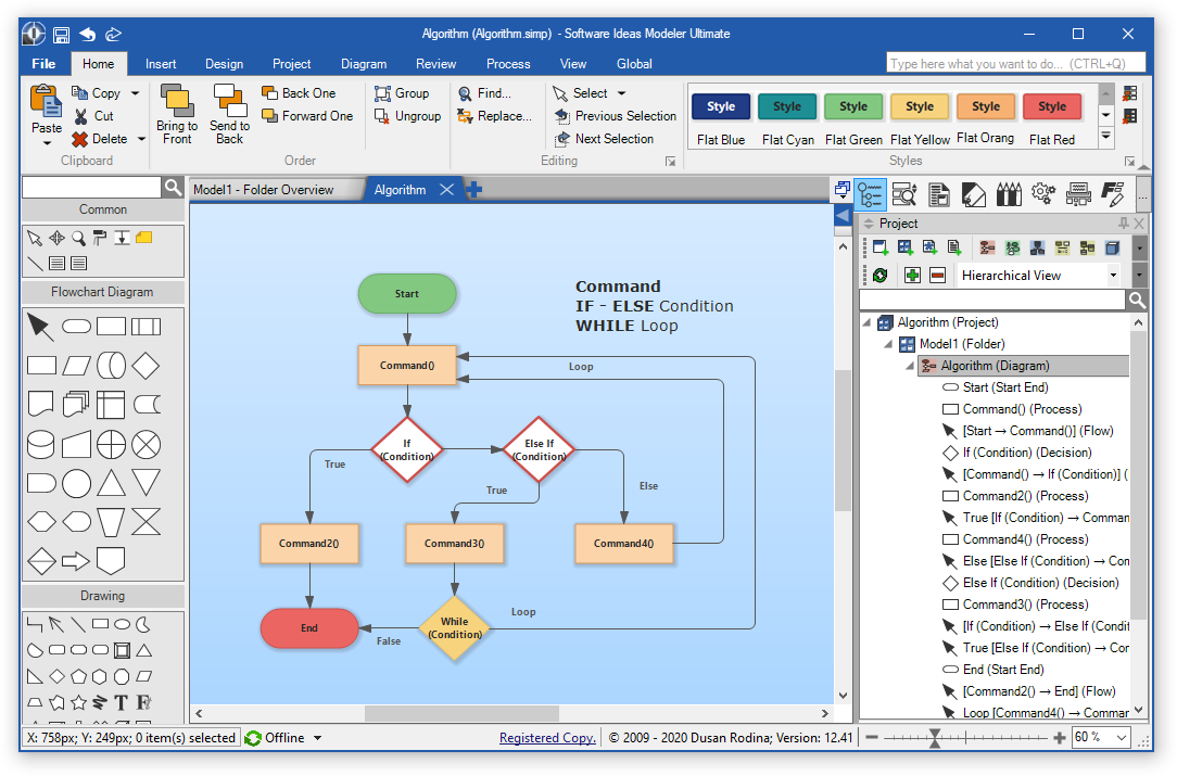 Software Ideas Modeler - Diagramming Software