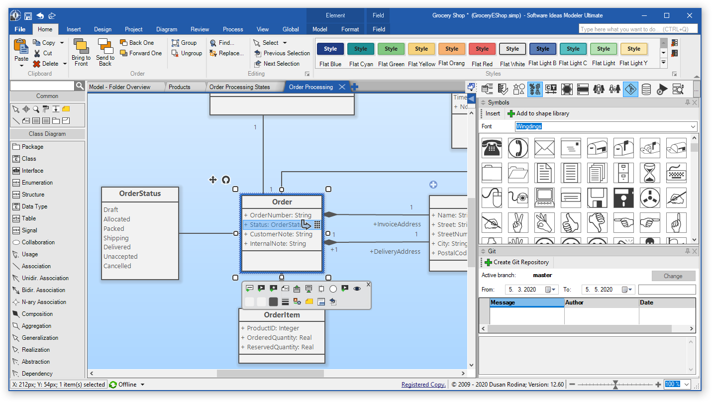 Software Ideas Modeler 12.60