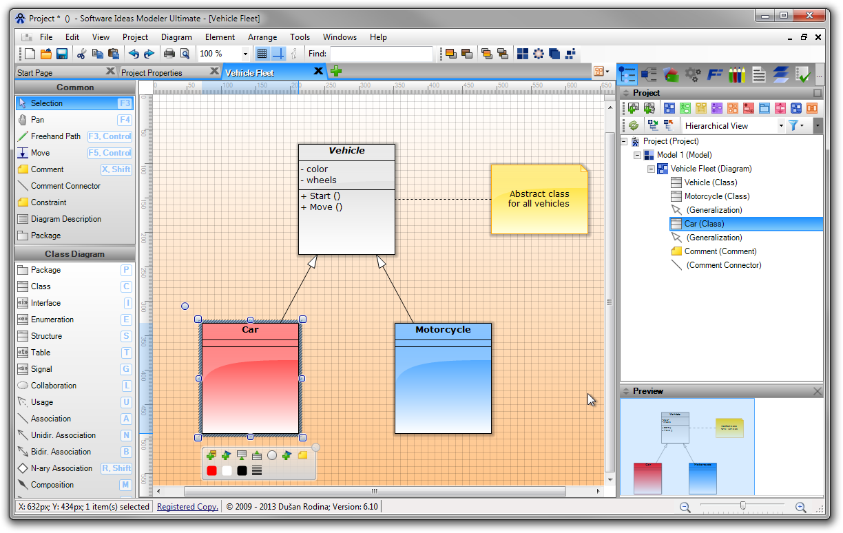 Screenshots Software Ideas Modeler
